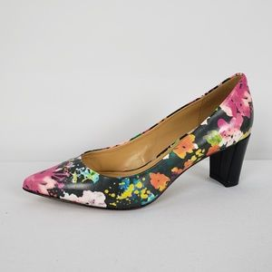 Enzo Angiolini Floral Pumps Size 5